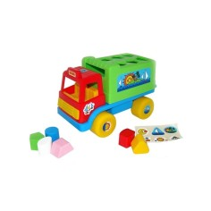 Camion educativ cu forme,...