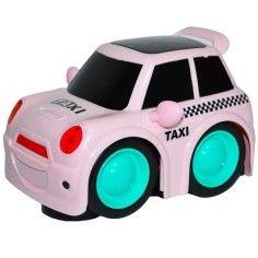 Masinuta Taxi, cu baterii, Roz