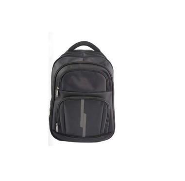 Ghiozdan pentru laptop ergonomic, negru, 46X33X17 cm, Pigna, BLRS20SM02