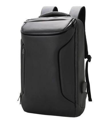 Ghiozdan pentru laptop ergonomic, negru, 48X32X12 cm, Pigna, BLRS20CH05